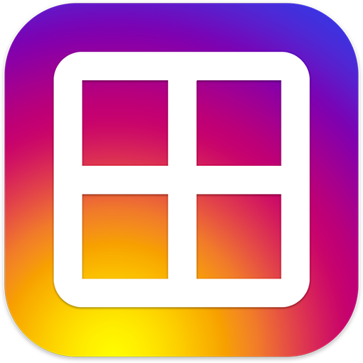 Collage Photo Editor Ultra Icon