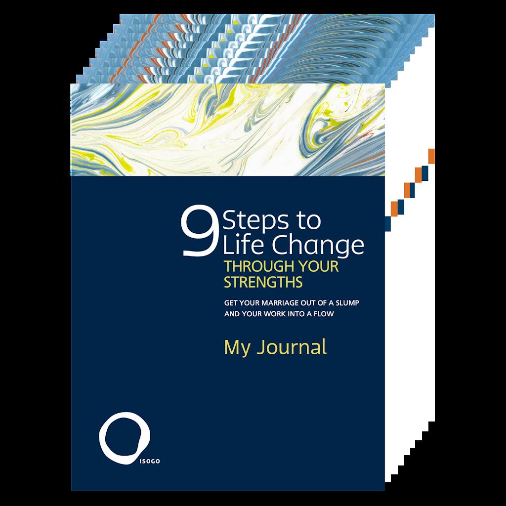 StrengthsFinder 9 Steps Journal