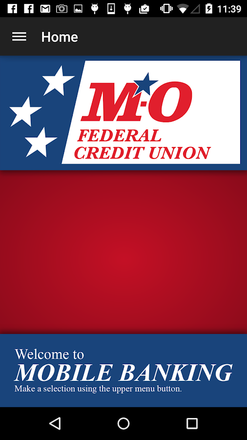 M-O Federal Credit Union- screenshot