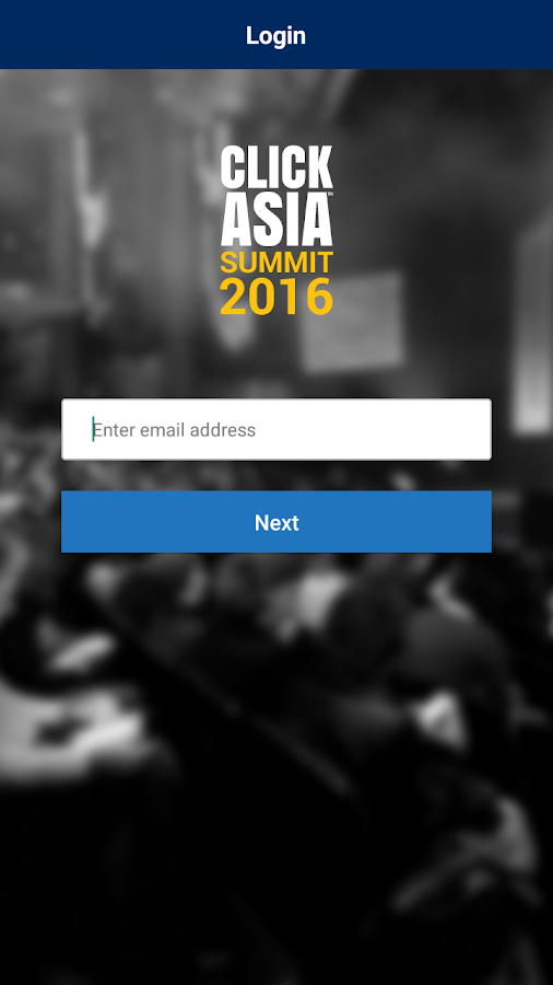Click Asia Summit 2016- screenshot