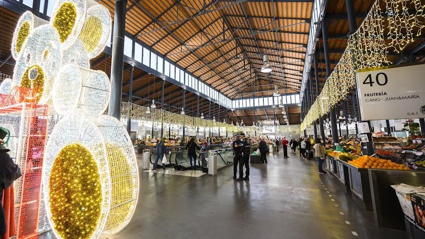 Mercado Central durante esta Navidad