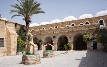 Photo: Mosque court yard