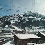 view from Swiss Panorama Train, Switzerland in Zermatt, Valais, Switzerland