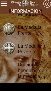 PODEROSA MEDALLA DE SAN BENITO screenshot 1