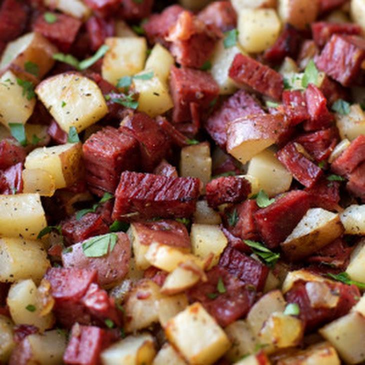 Leftover Corned Beef Hash Recipe