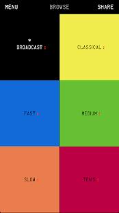 Stack Music App - náhled