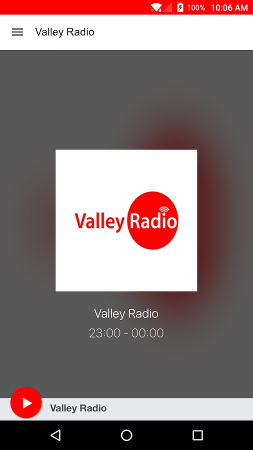 Valley Radio- screenshot