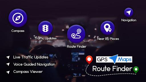 GPS, Maps, Navigations & Route Finder 1.8 screenshots 6