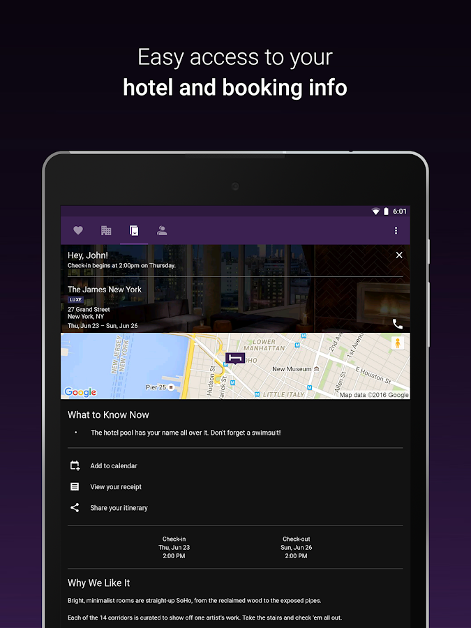 Hotel Tonight - Amazing Deals- screenshot