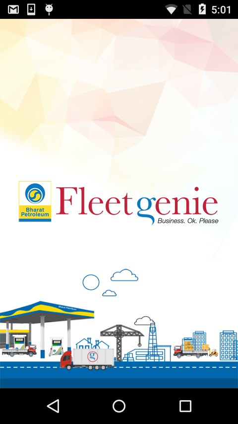 BPCL FleetGenie- screenshot