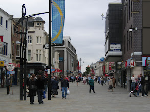 Photo: Northumberland Street, 2 mins walk from the Student Union
