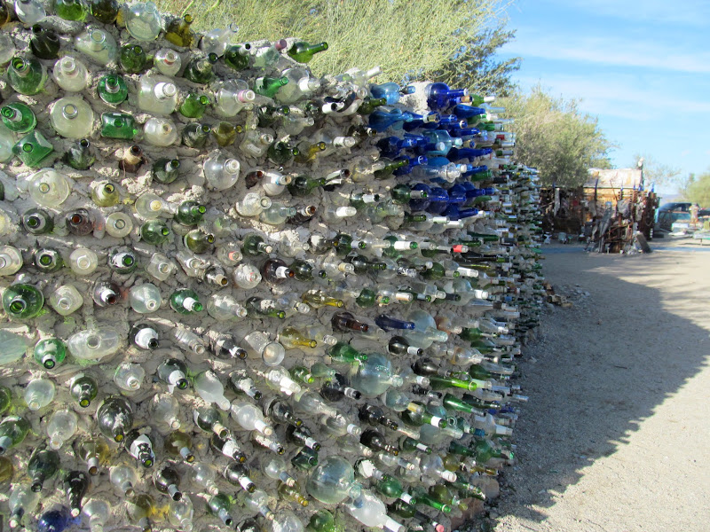 Photo: Bottle Wall