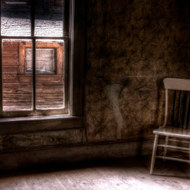 Corner Wait by Michele Richter - Artistic Objects Antiques ( hdr; mrichterphotos )