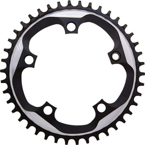 SRAM CX1 X-Sync Chainring 38t 110mm BCD Gray Fits 10/11 Speed Chains