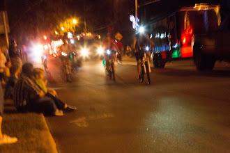 Photo: here come the SBA cyclists!