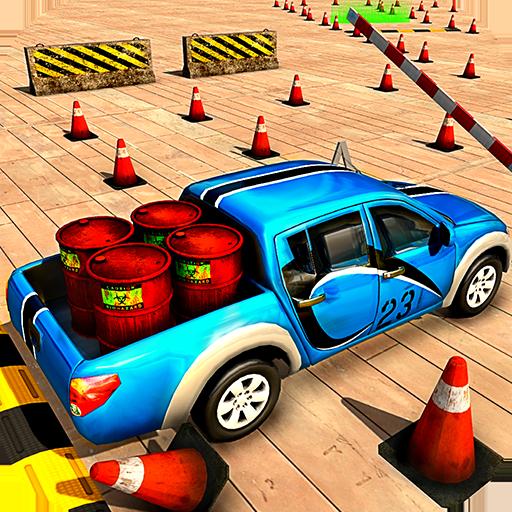 Cargo Pickup Truck Parking School Simulator