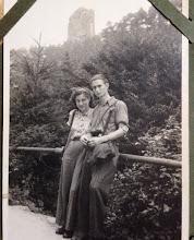 Photo: Meine Grosseltern Gertraude und Horst Effenberg in den 50er