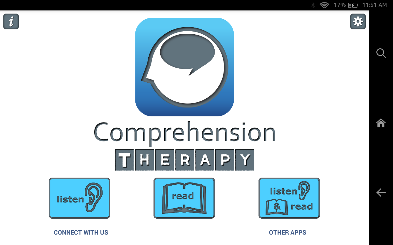 Comprehension Therapy- screenshot