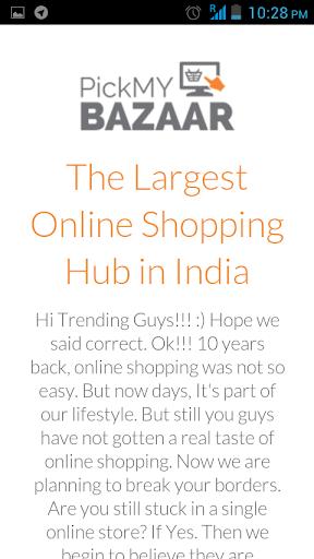 Pick My Bazaar
