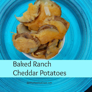 Baked Cheddar Ranch Potatoes