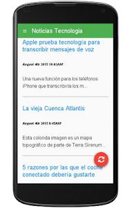 Noticias Tecnologia screenshot 1