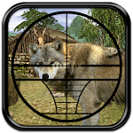 Hunting Jungle Wolf Icon