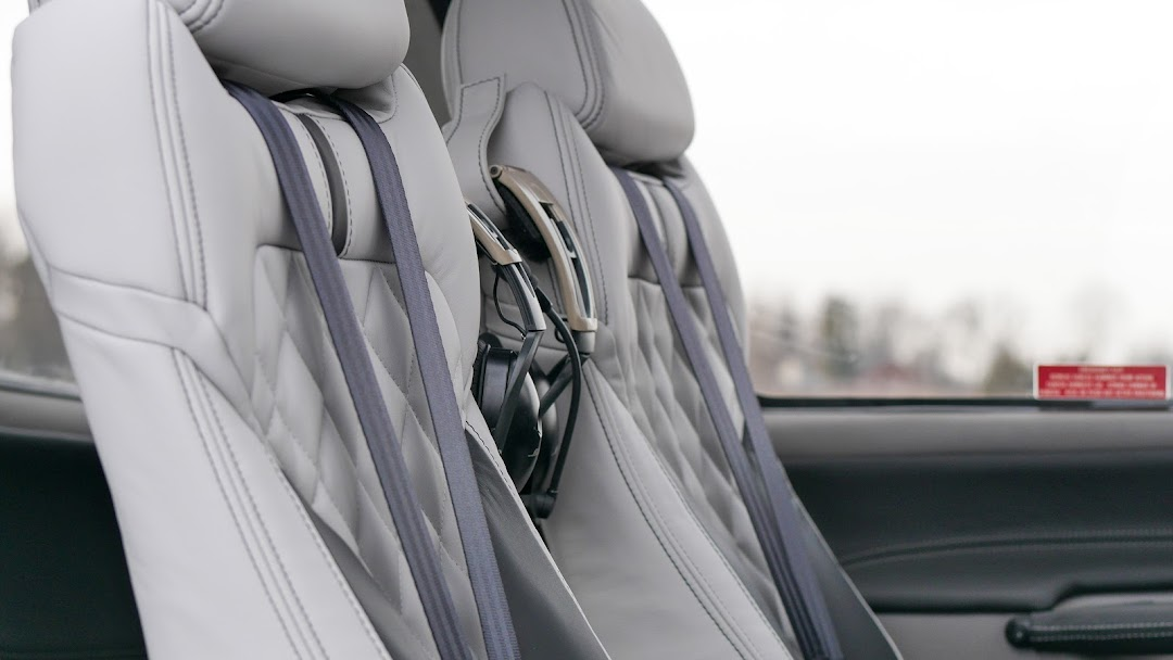 SCS Interiors - We cut and sew upholstery for aircraft, cars