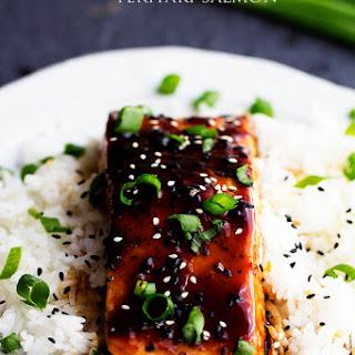 Baked Sesame Teriyaki Salmon