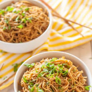Gluten Free Sticky Garlic Noodles