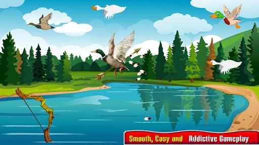 Real Duck Archery 2D Bird Hunting Shooting Game screenshots 2
