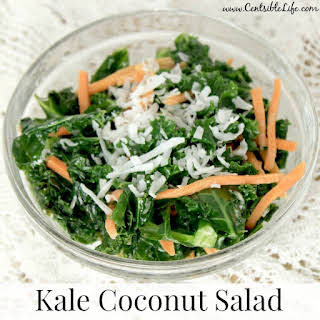 Kale Coconut Salad.