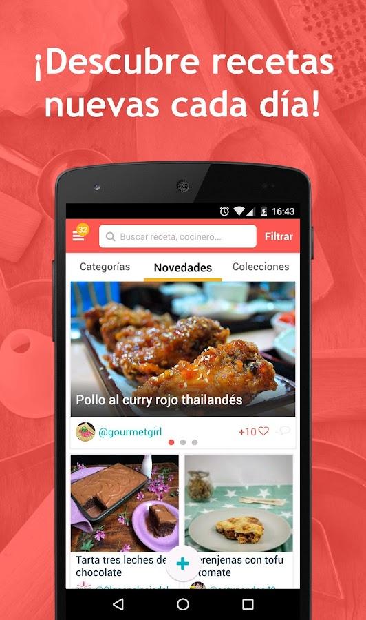 App Recetas De Cocina | Hatcook Recetas De Cocina Android Apps On Google Play