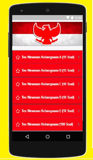 Tes Wawasan Kebangsaan (TWK)  CPNS Terbaru 2018 3.0 screenshots 6
