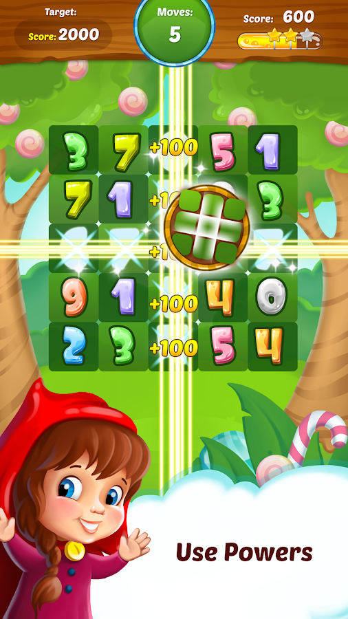Connect 10 - Fun Math Puzzle- screenshot