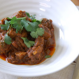 Cinnamon Scented Lamb Curry.