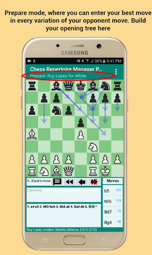 Chess Repertoire Manager Free - Build, Train, Play 1.6.29 screenshots 2