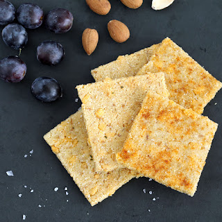 Vegan Cheese Crisps (Gluten-free, Plant-based, Low-carb)