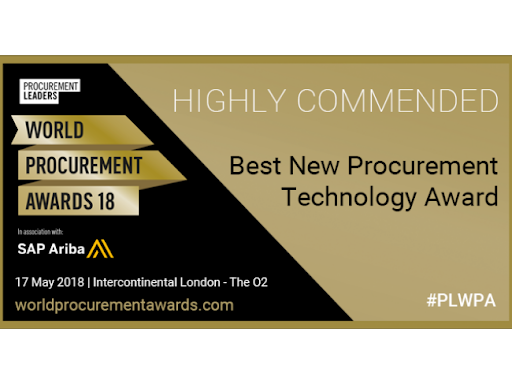Procurement Leaders award highly recommended