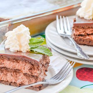 Classic Chocolate Ice Box Cake.