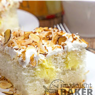 Toasted Almond Cream Cake Recipes.