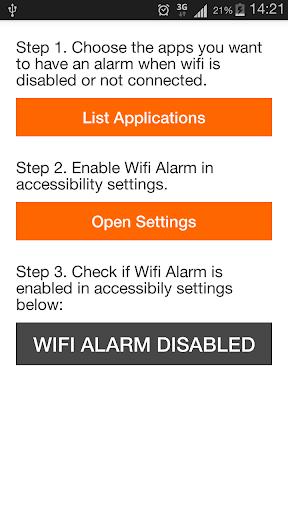 VLC Wifi Alarm