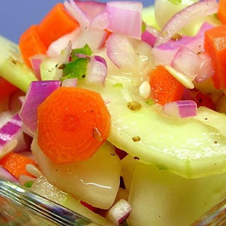 Zippy Cucumber Salad