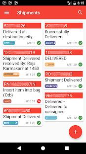 Shipments India - náhled