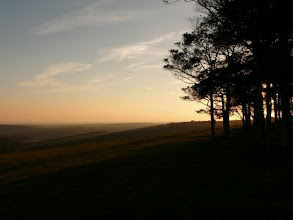 Photo: sunset at Chanctonbury ring...