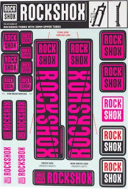 RockShox Decal Kit, 35mm alternate image 1