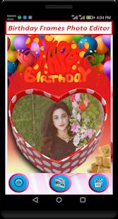 Birthday Cards Photo Editor - náhled