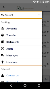 Acme FCU Mobile Banking- screenshot thumbnail