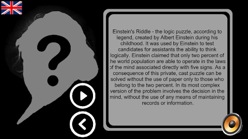 Einstein's riddles 1.8.3 screenshots 1
