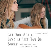 See You Again, Love Me Like You Do, Sugar (Acoustic Mashup)