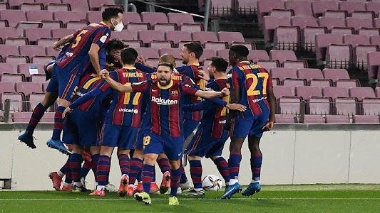 Malam Keajaiban Barcelona, Comeback Sensasional Lawan Sevilla Antar Blaugrana ke Final - Tribunnews.com